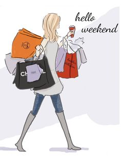 What Will You Be Doing This Weekend? Wishing you a great weekend! Bon Weekend, Hello Weekend, Happy Weekend, Rose Hill Designs, Positive Quotes For Women, Weekend Quotes, Tgif Quotes, Quotes Friday, Girly