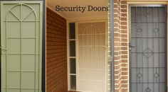 Multifit security doors provide you a top Australian standard without compromising your homes design and interiors. Security Doors, Melbourne, Garage Doors, House Design, Homes, Interiors, Windows, Outdoor Decor, Top