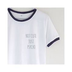 b0e82193 Sarcastic? Never. Funny T-Shirt ❤ liked on Polyvore featuring tops, t-shirts,  sleeve t shirt, shirt tops, sleeve shirt, short shirts and short sleeve ...