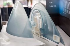 "Results of NASA's 3D Printed Habitat Challenge for space exploration  1ST PLACE: Detail of ""Mars Ice House"" by Team Space Exploration Architecture and Clouds Architecture Office."