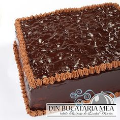 Din bucătăria mea: Tort de ciocolata cu crema de nuci Craving Sweets, Dessert Cake Recipes, Romanian Food, Sweet Pastries, Vegan Kitchen, Something Sweet, Vegan Desserts, Chocolate Cake, Food And Drink