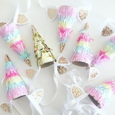 Unicorn horn party h