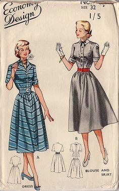 old dress patterns