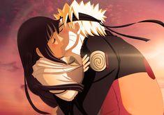 Anime Naruto  Hinata Hyūga Naruto Uzumaki Papel de Parede