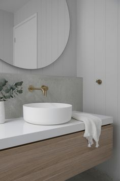 Costal Bathroom, Modern Bathroom, Small Bathroom, Laundry In Bathroom, Ensuite Bathrooms, Bathroom Basin, Bathroom Wall, Timber Vanity, Bathroom Color Schemes