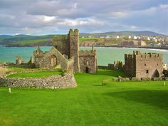 Isle of Man - great grandfather born here! Well, probably not in this castle....but on this island!