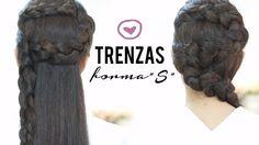 Peinado: trenzas en forma de S