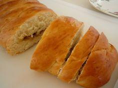 Braided Custard Apple Bread