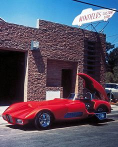 The Strip Star is a show and competition race car built by Gene Winfield of Winfield's Custom Shop for the Promotions Inc Show Car Division
