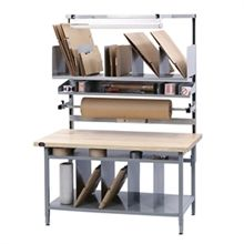 Work Benches and Storage Cabinets