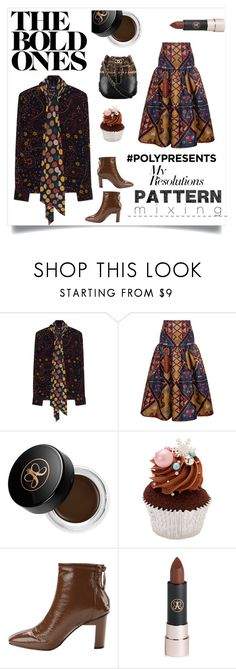 """""""#PolyPresents: New Year's Resolutions"""" by im-karla-with-a-k ❤ liked on Polyvore featuring Steffen Schraut, Stella Jean, Anastasia Beverly Hills, Chanel, contestentry and polyPresents"""