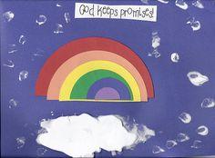 Reading Confetti: Noah's Ark Rainbow