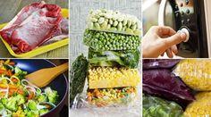 Jeito certo de armazenagem evita contaminações e preserva sabor e textura dos alimentos