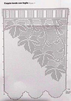 Filet Crochet, Annie's Crochet, Crochet Borders, Crochet Shoes, Crochet Doilies, Crochet Flowers, Crochet Patterns, Crochet Curtain Pattern, Crochet Curtains