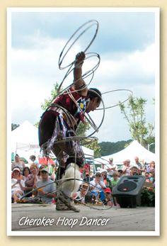 Cherokee Hoop Dancer