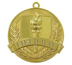 Field Day Gold Medal - Jones School Supply