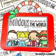 Holidays Around the World - The Creative Classroom Preschool Curriculum, Teaching Activities, Classroom Activities, Teaching Tips, Homeschooling, Classroom Ideas, Holidays Around The World, Around The Worlds, Teacher Forms