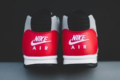 best sneakers c3bcd 65cb9 Nike Air Trainer 1 Mid (Wolf GreyUniversity Red) - Sneaker Freaker