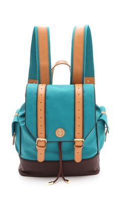 Tory Burch: Dipped Canvas Backpack. Since Prada re-invented the children's backpack for adults - backpacks are in! Add some style to your active lifestyle with a trendy backpack!