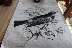 Designs by Pinky: Birds at the Table!