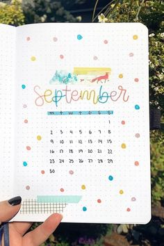 45 Best bullet journal monthly cover ideas for September Bullet Journal Cover Ideas, Bullet Journal Lettering Ideas, Bullet Journal Notebook, Bullet Journal School, Bullet Journal Themes, Bullet Journal Spread, Bullet Journal Layout, Bullet Journal Inspiration, Bullet Journal Ideas For Students