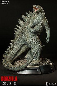 Sideshow Collectibles finally reveal their Godzilla (2014) Maquette! | Godzilla News