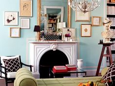 """5 Unexpected Colors Combinations That Actually Work: File this under """"hue knew?"""" via @domainehome"""
