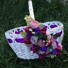 Пасхальная корзина. Автор: Анна Табак Easter Crafts, Table Settings, Basket, Christmas Ornaments, Holiday Decor, Floral, Handmade, Home Decor, Baskets