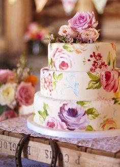 Watercolor is one of the hottest trends today, its delicateness and subtleness remind of great works of impressionists. This is one of the best ideas for a spring or summer wedding as light and subtle hues will make your big day especially romantic.