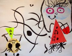 DREAM DRAW CREATE: Miro Monsters - Grades 1, 2 and 3