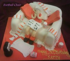 Blackpool Football Club themed cake for Kerry's 30th Birhtday