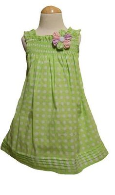 Pastel Dots Caitlin Dress picture  love the detail on the bottom of the dress