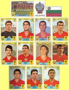 Panini stickers 1970 FIFA World Cup Mexico - Bulgaria squad