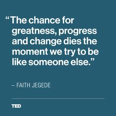 From Faith Jegede's