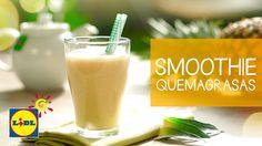 Smoothie Quemagrasas De Té Verde Y Piña - Recetas Smoothies
