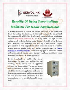 R. D. Electric Works is based in Noida which is leading among the various Servo Voltage Stabilizer Manufacturers in the marketplace. The company has earned a name for its supreme quality of products in both national and international market.