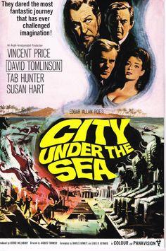 City Under the Sea (1965) British Pressbook