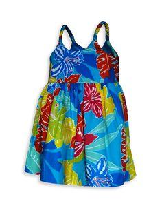 80bab95bd1de Hibiscus Carnival Baby Dress : Shaka Time Hawaii Clothing Store  #hawaiiandresses #babydresses Carnival Girl