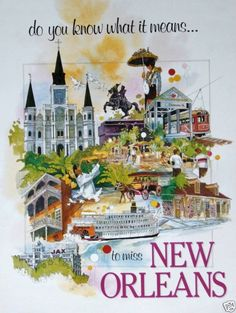 """As 'Harry' says, """"New Orleans is my Essence, my Soul, my Muse.""""...So true, it never leaves your heart nor soul."""