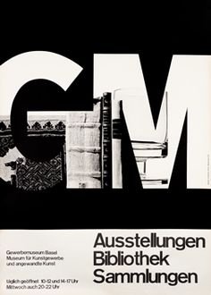 Hofmann, Armin poster: GM - Ausstellungen Bibliotthek Sammlungen