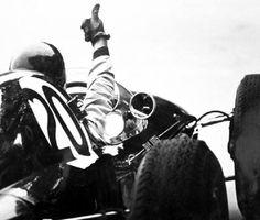 f1 1962 Jim Clark (winner) Lotus British GP.