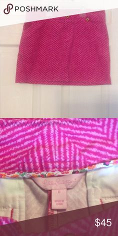 Lilly Pulitzer corduroy skirt Great condition Lilly Pulitzer Skirts