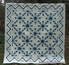 BCS 1138 Snowflake quilt pattern by Border Creek Station Pattern Co.