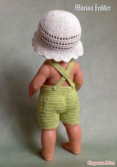 Комарооооов! - Гардероб для куклы - Страна Мам Bitty Baby Clothes, American Girl Crochet, Crochet Doll Clothes, Baby Born, Crochet Hats, Dolls, Knitting, Fashion, Doll Outfits