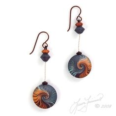 Ocean Drop Earrings | Flickr - Photo Sharing!