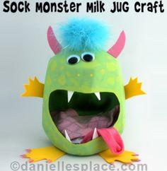 Cute monster craft