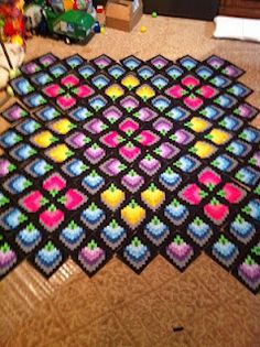 never seen a bargello quite like this before