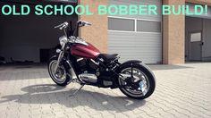 Kawasaki VN800 BOBBER BUILD - OLD SCHOOL