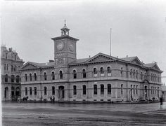 Photograph - Christchurch Chief Post Office, Cathedral Square [ca. Chatham Islands, Gothic Elements, Christchurch New Zealand, Anglican Church, City Library, Central City, City Council, Back In Time, Post Office