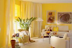 Yellow interior decorating ideas 7